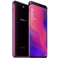 【当当自营】OPPO Find X曲面全景屏手机 全网通8GB+128GB 波尔多红 全隐藏式3D摄像头 双卡双待手机