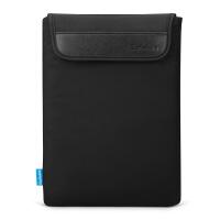 thinkpad联想X270 250 X260 E475笔记本电脑内胆包保护套12.5 黑色 竖款粘扣式