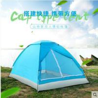 防风防雨户外双人帐篷情侣帐篷户外2人室内成人自驾游露营野外野营沙滩