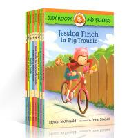 英文原版 Judy Moody and Friends 1-8本全套 稀奇古怪小朱迪和她的小伙伴 儿童情商启蒙故事章节桥梁书
