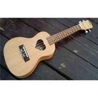 初学者21寸尤克里里木质乐器ulele乌克丽丽四弦儿童小吉他a311 23寸桃花芯 爱心