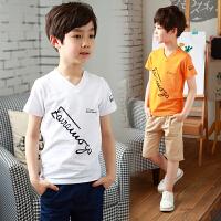 童装男童夏装新款套装小男孩韩版潮短袖中大童两件套夏季童装