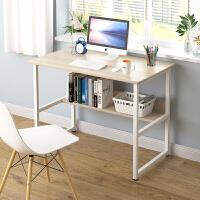 台式电脑桌笔记本桌子 可折叠免安装简易床边桌书桌办公桌懒人桌