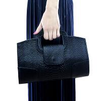 女手包2018新款蛇纹皮手拿包女欧美潮时尚手提女包手提小包包