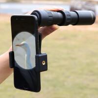 望远镜高倍高清夜视体非红外透视手机伸缩式300迷你变倍单筒