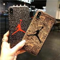【包邮】NBA球星潮牌iPhoneX手机壳苹果8软壳苹果7plus保护套8plus硅胶软壳6s全包个性男乔丹手机壳iP
