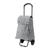 克纳拉带轮购物袋便携购物车折叠买菜车拉杆车行李推车小拉车