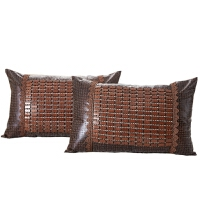 新品上市麻将凉席花边枕套单人枕套麻将席不含枕芯单枕套子