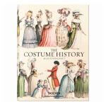 欧洲古典宫廷服装设计史COSTUMES HISTORY奥古斯特拉西古服装TASCHEN画册