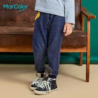 【25折价:44.75】巴拉巴拉旗下MarColor马卡乐2019春新品男童立体图案百搭针织长裤