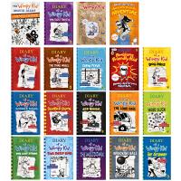 【全店700减230】英文原版 Diary of a Wimpy Kid 小屁孩日记19册 中小学生课外阅读章节桥梁书趣