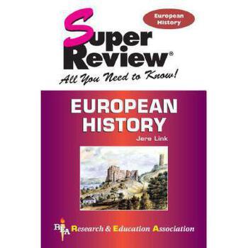 【预订】European History 美国库房发货,通常付款后3-5周到货!