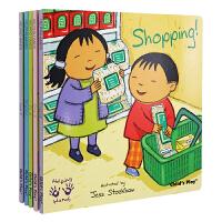 英文原版绘本Helping Hands 小帮手系列5册合售 Clean It 清洁Grow it成长Fix it修理Shopping购物Recycling 环保 吴敏兰书单 child's play