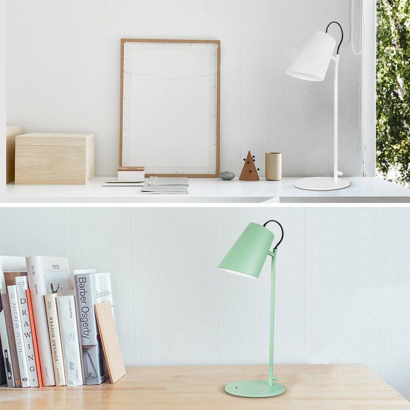 雷士照明LED柔光儿童学习宿舍插电卧室大学生书桌调光阅读小台灯