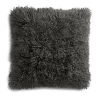 欧式滩羊毛抱枕靠垫沙发靠枕床头靠背腰靠羊毛抱枕ins家用 天然滩羊毛