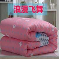 棉花被子棉絮棉被冬被全棉�和�加厚保暖�W生宿舍�稳舜�1.5米8斤10