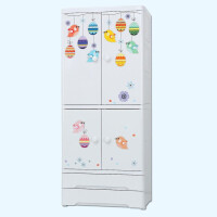 Yeya 多层收纳柜抽屉式塑料婴儿宝宝衣柜儿童整理储物柜 (新品)