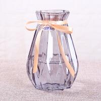欧式风信子花瓶水培植物玻璃瓶客厅插花摆件干鲜花瓶 桌面插花瓶