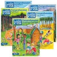 华研原版 柯林斯小学英语阅读理解教材5册 英文原版 Collins Primary Focus Comprehensio