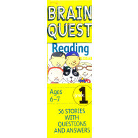 Brain Quest Grade 1 Reading 智力开发系列:1年级阅读 ISBN9780761141396