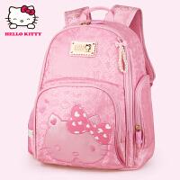 HelloKitty凯蒂猫 KT1098粉红 儿童书包小学生书包女童韩版甜美淑女减负护脊书包