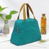 帆布女包包新款双拉链休闲小包时尚手提包百搭休闲手拎包手机包