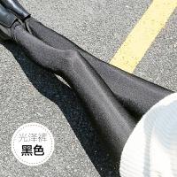 不加绒打底裤女外穿秋冬款显瘦黑色小脚长裤力紧身大码光泽裤