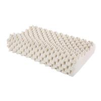 乳胶枕记忆枕颈椎枕芯单人橡胶枕头 狼牙枕 含内衬