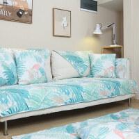 沙发垫套全棉沙发垫布艺简约现代客厅四季通用坐垫子防滑罩巾盖套定做