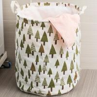 【满减】ORZ 浴室棉麻制脏衣袋 洗衣篮脏衣桶大容量可折叠洗衣置物篮带提手