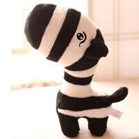 可爱小毛绒玩具公仔 卡通彩色森林玩偶布娃娃节礼物