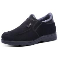 №【2019新款】冬天老年人穿的老北京布鞋中老年男棉鞋高帮健步舒适东北大棉鞋
