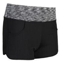WA32美丽段染腰口袋款防走光速干瑜伽裤跑步健身运动短裤
