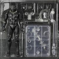 漫威marvel国产SHF黑豹蚁人6寸超可动多关节人偶玩具模型盒装 图片色