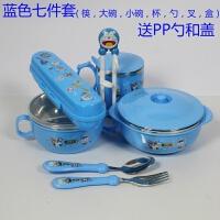儿童练习筷子 树脂学习训练筷餐具 婴儿宝宝韩国学习筷子餐具套装A