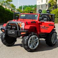 儿童电动车宝宝可坐人大人超大号四轮四驱汽车遥控越野车两人双人