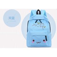 书包小学生男生女1-3年级儿童旅行背包6-12岁定制双肩包补习包袋 浅蓝色 买