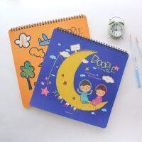 苏铁时光 儿童涂画本涂色本画册填色本宝宝涂鸦填色书笔画本子