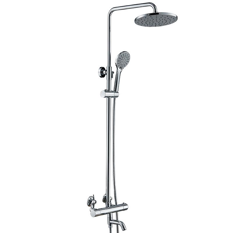 【货到付款】贝乐BALLEE W8115 铜质花洒套装 升降淋浴器 恒温淋浴花洒新年焕新家,选贝乐,精品卫浴一站式齐购