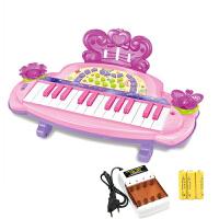 儿童电子琴初学者入门34键男女孩宝宝1-3-6岁钢琴早教玩具琴a302 独立充电版