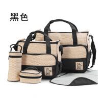 20180609024809448环保防水多功能妈妈咪包袋5件套装五件套待产包婴儿包大容量