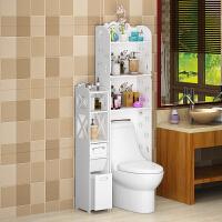 家居生活用品创意卫生间马桶置物架浴室厕所落地式边柜收纳架免打孔储物柜