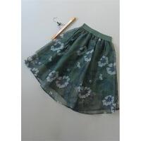 [69-201]新款女装蓬蓬裙百褶半身裙0.16