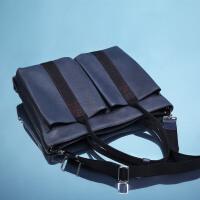 【支持礼品卡】HR赫莲娜男士包包单肩斜挎包休闲欧美时尚大容量手提包横款挎包