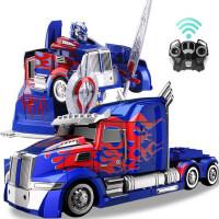 变形金刚5大黄蜂机器人玩具充电无线超大感应遥控汽车擎天柱男孩4