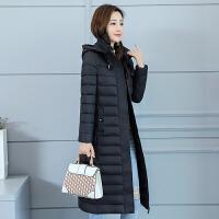 轻薄羽绒冬季棉衣女过膝中长款修身显瘦冬装外套反季