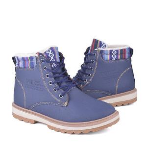 男式 冬季新款高帮马丁 男士户外韩版潮流运动板鞋英伦商务休闲鞋子