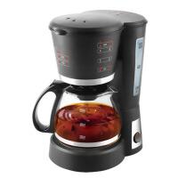 5P5 家用自动滴漏式咖啡壶可泡茶壶咖啡机 黑