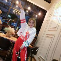 运动套装女春秋新款瑜伽健身房跑步韩版宽松时尚休闲两件套潮