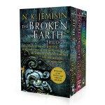科幻星云奖 破碎的星球三部曲 打败刘慈欣三体 蝉联三届雨果奖 英文原版 The Broken Earth Trilog
